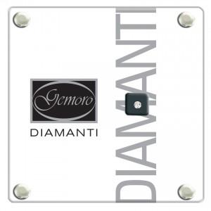 preziosità, purezza, lucentezza: tutto racchiuso in un diamante sigillato e certificato